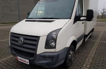 Volkswagen CRAFTER 2.5 TDI 164KM faktura vat23%, kontener, tacho, rok.2x opony, rok gwarancji