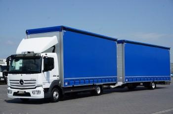 Mercedes / ATEGO / 821/ ACC / EURO 6 / ZESTAW PRZESTRZENNY 120 M3 /