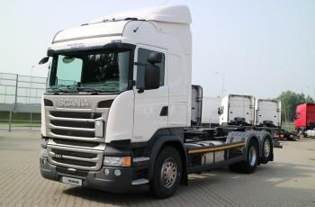 Scania R450LB6X2MNB BDF bez EGR