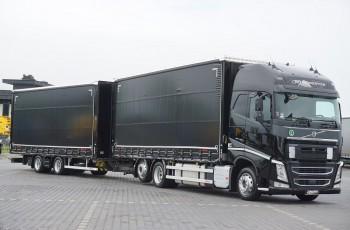 Volvo / FH / 460 / XXL / ACC / EURO 6 / ZESTAW PRZEJAZDOWY 120 M3
