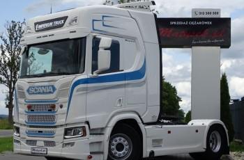 Scania R 500 / NOWY MODEL / RETARDER / NAVI / I-COOL /