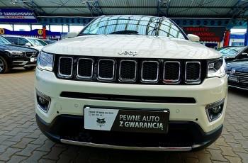 Jeep Compass 3 Lata GWARANCJA I-wł Kraj Bezwypadkowy ASO 4x4 170KM LIMITED FV23% 4x2