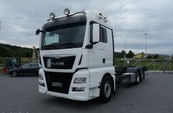 MAN TGX 26.480 / EURO 6 / BDF / 6x2 /