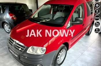 Volkswagen Caddy 1.9 TDI 105KM 4 MOTION 4x4 Jeden w całej Polsce Z NIEMIEC TOP