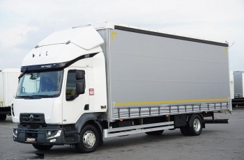 Renault / D 16 / 240 / ACC / EURO 6 / FIRANKA / 20 PALET / ŁAD. 8455 KG