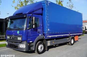 Mercedes Atego 1224L / Euro 6 / 18 europalet / winda / 200 tys. km