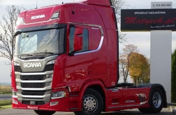 Scania R 450 / BOGATE WYPOSAŻENIE / I-PARK COOL / SKORY / NAVI / POLSKI SALON /